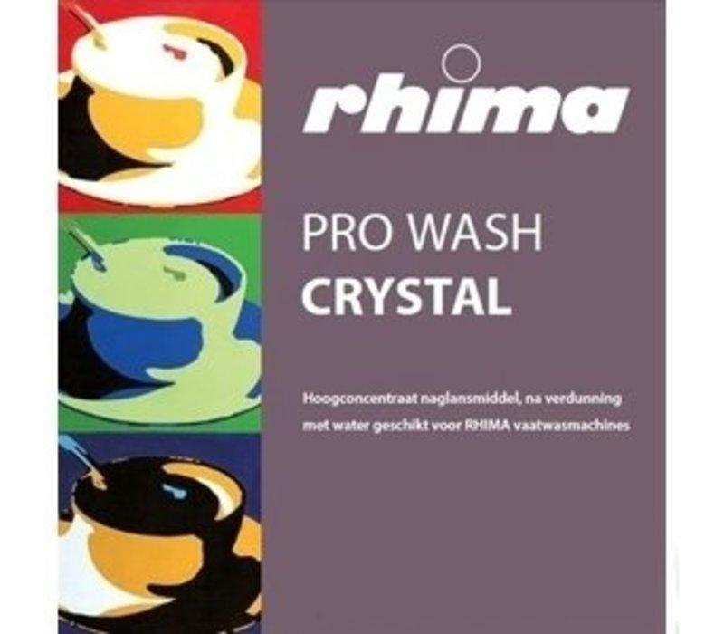 Rhima Naspoelmiddel Pro Wash Crystal | Bag | 5 liter / 1 kg