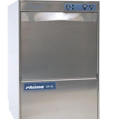 Rhima Gläserspüler 40x40cm | Rhima DR40S | Inkl. Weichmacher | 460x545x715mm