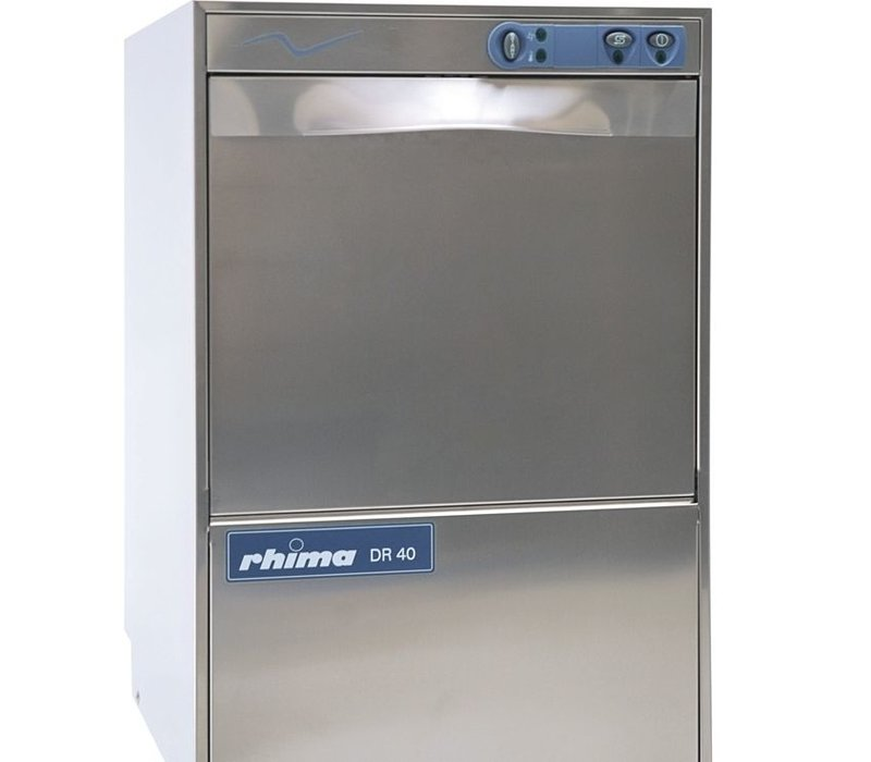Rhima Glazenspoelmachine 40x40cm   Rhima DR40   460x545x715mm