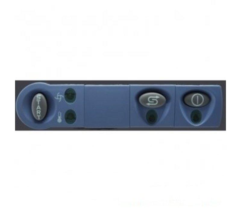 Rhima Glazenspoelmachine 40x40cm | Rhima DR39S | Incl. Waterontharder | 450x530x700mm