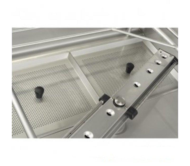 Rhima Pass Trough Dishwasher 60x40cm | RHIMA WD-7 PLUS GREEN | Incl. Break Tank and Naspoeldrukverhogingspomp