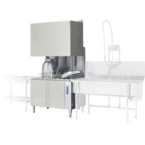 Rhima Pass Trough Dishwasher 50x50cm   RHIMA WD12GHE   400V   1200x770x1910 / 2420mm