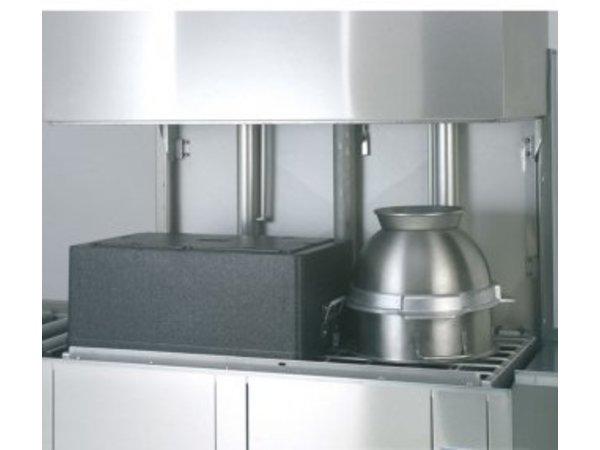 Rhima Korbdurchschub- Geschirrspüler 50x50cm | Rhima WD12GHE | 400V | 1200x770x1910 / 2420mm