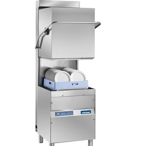 Rhima Pass Trough Dishwasher 50x50cm | RHIMA OPTIMA 600 HR PLUS | Incl. Energy-saving Steam Condensing Unit