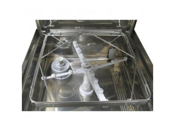 Rhima Korbdurchschub- Geschirrspüler 50x50cm | Rhima DR60i PLUS | Inkl. VBH und Naspoeldrukverhogingspomp | 400V