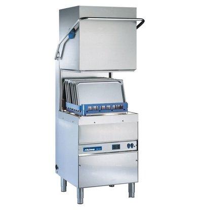 Rhima Pass-through dishwasher 50x50cm Rhima DR59 PLUS | Incl. Breaktank and Naspoeldrukverhogingspomp | 400V