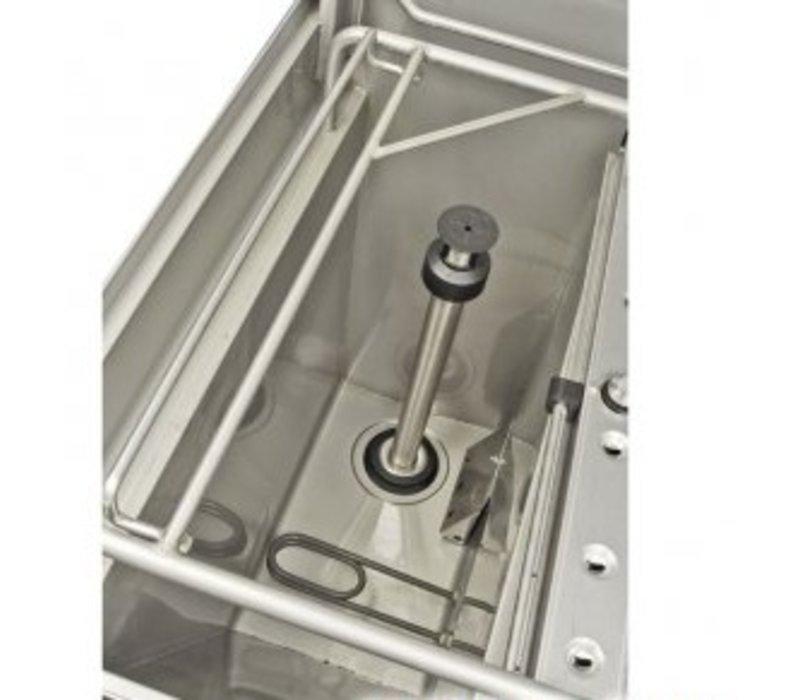 Rhima Korbdurchschub- Geschirrspüler | 3 Waschzyklen | Rhima WD-7 Grün plus | 600x657x1540 / 2080mm