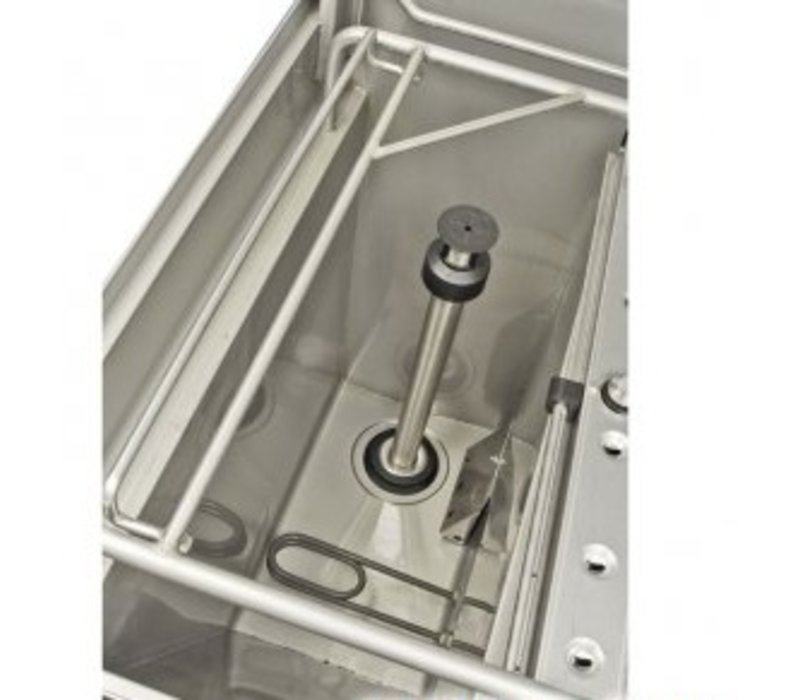 Rhima Doorschuifvaatwasser | 3 Wascycli | Rhima WD-6 Green Plus | 600x657x1430/1875mm