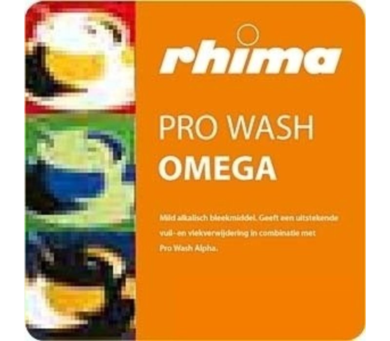 Rhima Bleach Pro Wash Omega | Bag in Box | 10 Liter