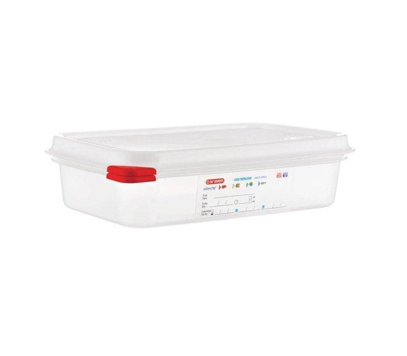 Araven Voedselcontainer GN 1/4 | Araven | 1,8 ltr | 4 Stuks