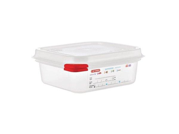 Araven Voedselcontainer GN 1/6 | Araven | 1,1 ltr | 4 Stuks