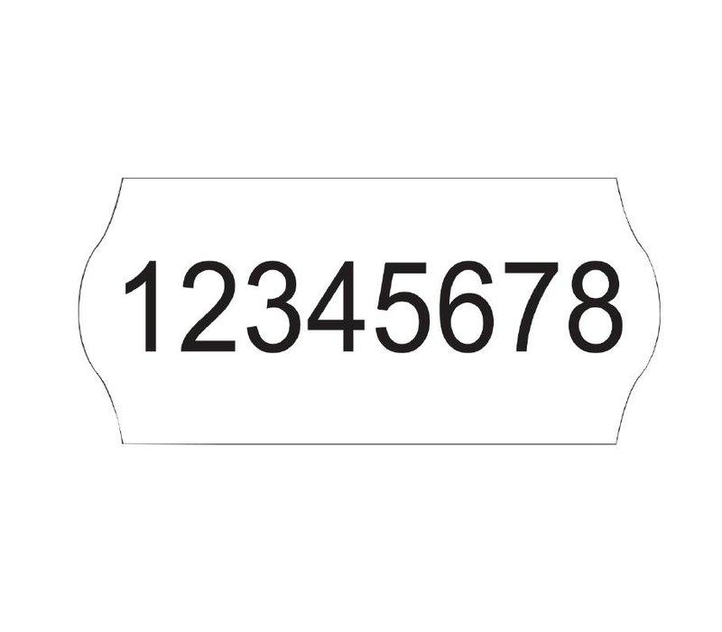 XXLselect Witte prijs Stickers | voor GH001