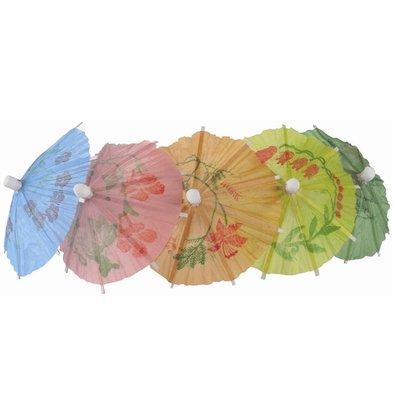 XXLselect Parasols kleuren Assorti | 170(l)mm | Per 144 Stuks