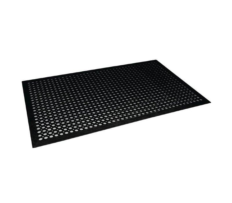 Bolero Antivermoeidheidsmat Zwart | 90x150cm