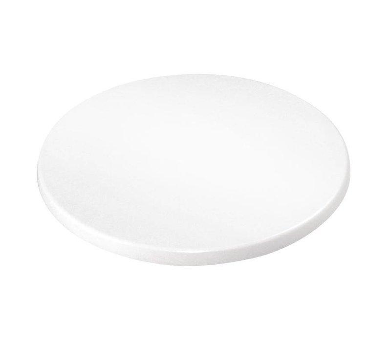 Bolero Tafelblad Bolero | Wit | Ø600mm