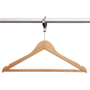 Bolero Wardrobe Hanger Anti-Theft | Per 10 Pieces