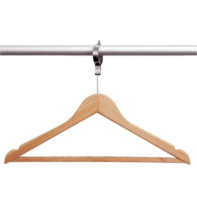 Bolero Wardrobe Hanger Anti-Theft | Per 10 Pieces