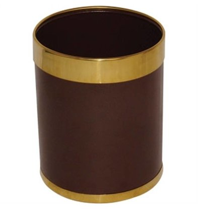 Bolero Trash Gold-colored Border 10ltr | 280 (h) mm