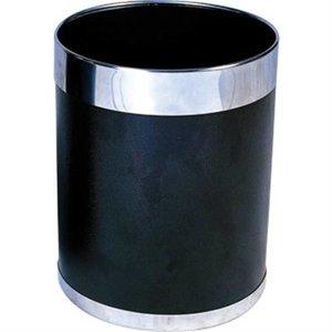 Bolero Prullenbak   Zilverkleurige Rand   10ltr   280(h)mm
