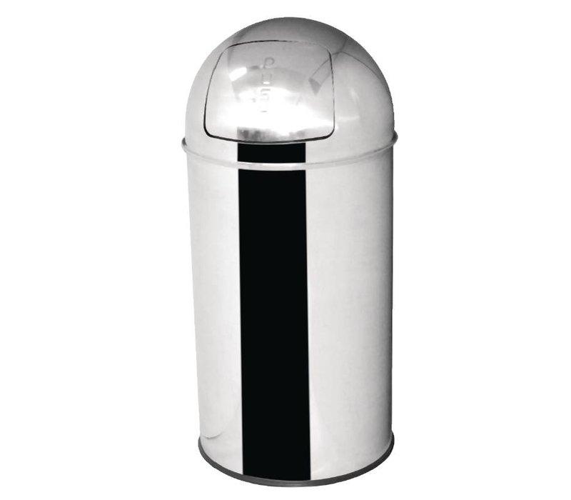 Bolero Abfallbehälter aus Edelstahl | Bolero | 47ltr