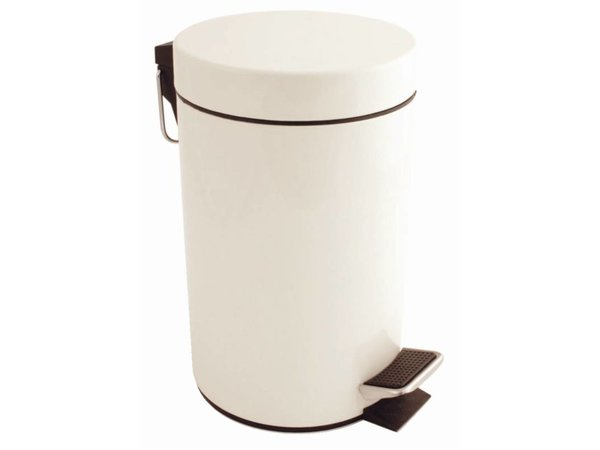 Bolero Pedaalemmer Wit | 3 Liter