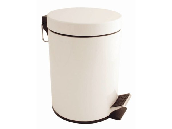 Bolero Pedaalemmer Wit | 5 Liter