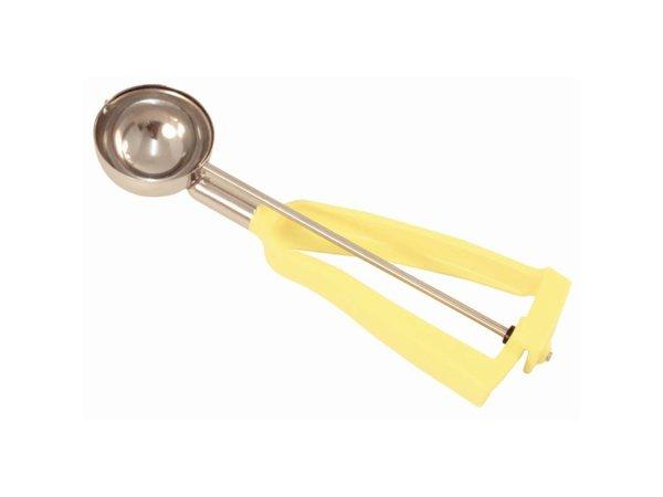 Bonzer Scoop Lite Grip Edelstahl / Gelb   Größe 20   53ml