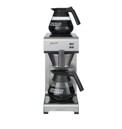 XXLselect Koffiezetapparaat Mondo | 2 Warmhoudplaten | 2x 1,5 Liter | 620(h)mm