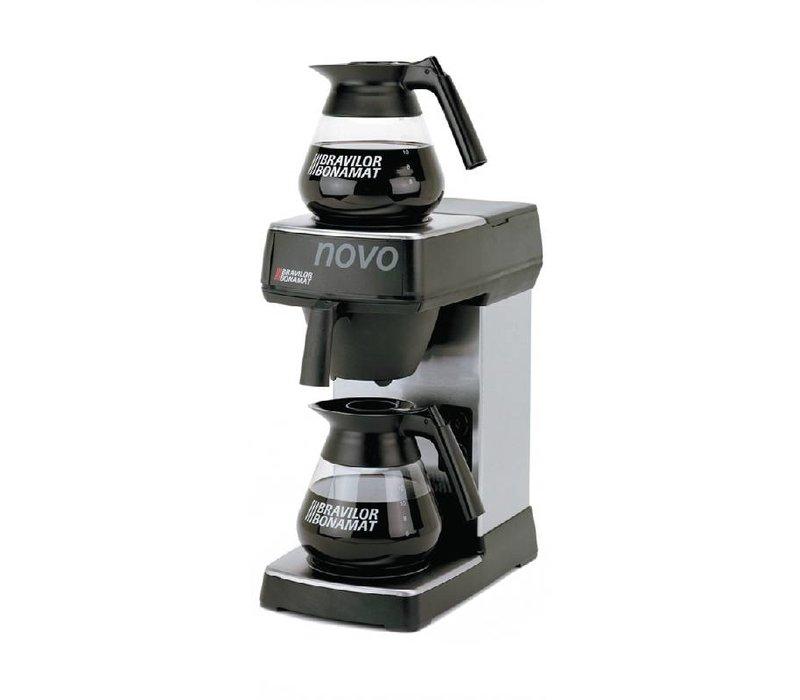 Bravilor Bonamat Koffiezetapparaat Novo | 2 Warmhoudplaten | 2x 1,5 Liter | 430(h)mm