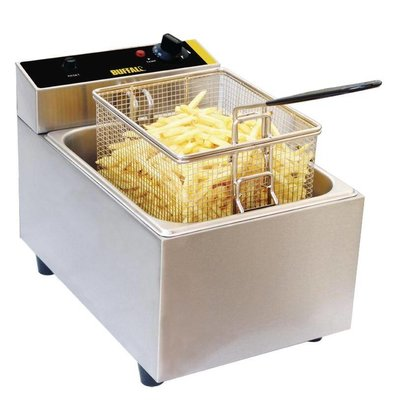 Buffalo Freezer Compact | 5 liters | Incl. Basket and Cover | 2.8kW