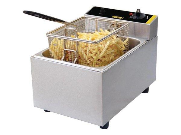 Buffalo Compact Fryer | 5 Liter | Incl. Korb und Deckel | 2,8kW
