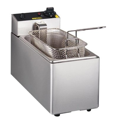 Buffalo Friteuse 3 Liter | Incl. Cover and Basket | 2kW