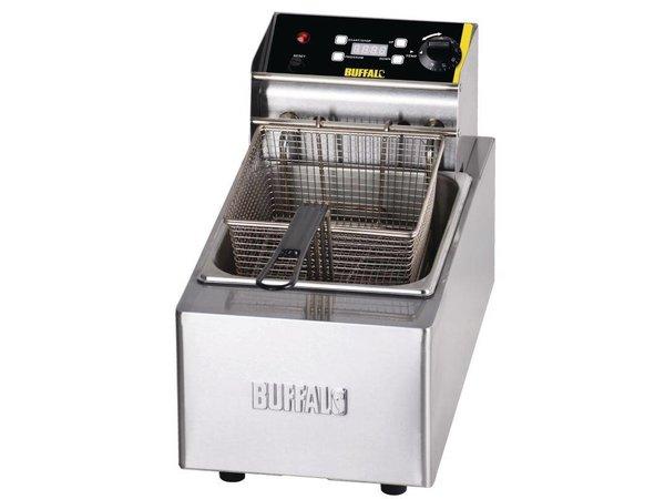 Buffalo Fryer 5 Liter Digital | Incl. Korb und Deckel | 2,8kW