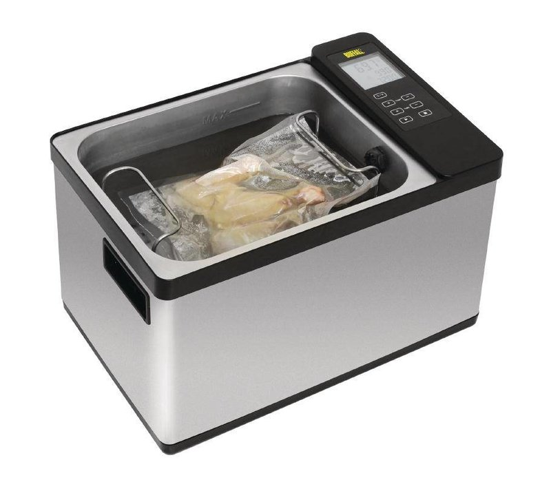 Buffalo Sous Vide Wasserbad | 12,5 Liter | LCD Display und Timer