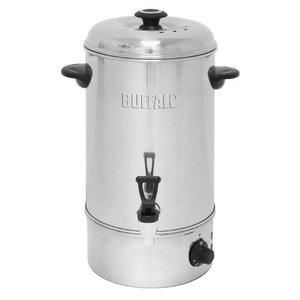 Buffalo Hot Water Dispenser Stainless Steel | Free drop Crane | Ø326mm | 10 liter