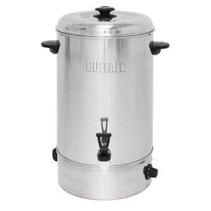 Buffalo Hot Water Dispenser Stainless Steel | Non-drip valve | Ø440mm | 20 liter