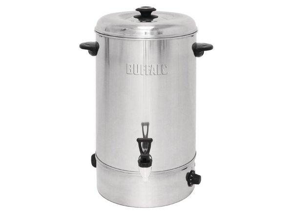 Buffalo Hot Water Dispenser Edelstahl | Nichttropfventil | Ø440mm | 20 Liter