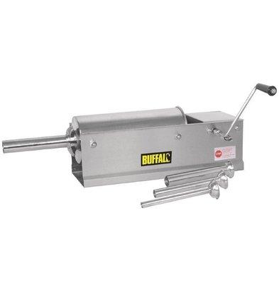 Buffalo Sausage Maker Handbuch | Zylinder aus rostfreiem Stahl | Stampers Ø13 4, 20, 30, 36 mm