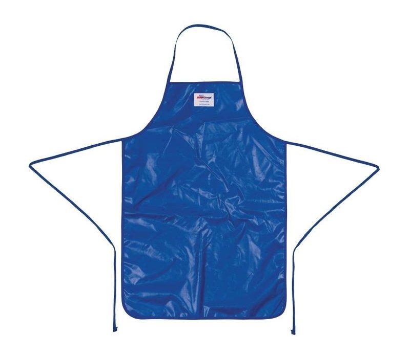 Burnguard Nylon Schort Quicklean   Blauw   93(L)x64(B)cm