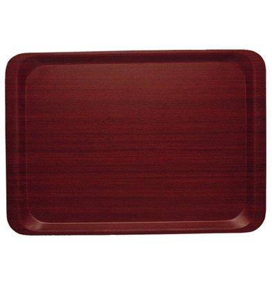 Cambro Dienblad Mahonie | Klein 265x325mm