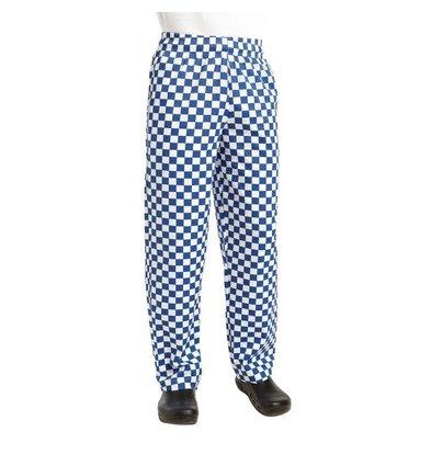Chef Works Köche Hosen Checkered Blau / Weiß | Chef Works Easyfit | Baumwolle | Erhältlich in 6 Größen