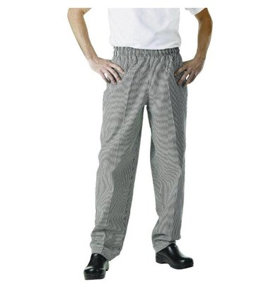 Chef Works Cooks Pants Checkered Black / White | Chef Works Easyfit | cotton | Available in 6 sizes