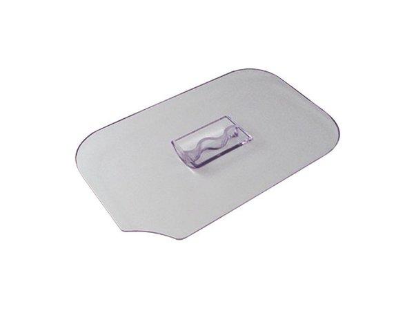 Dalebrook Deksel met Lepeluitsparing | Dalebrook | 230x260x80(h)mm