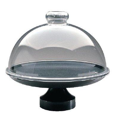 Dalebrook Voet voor Taartschotel | Zwart | Ø330mm