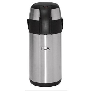 XXLselect Olympia thermoskan met pomp 3 liter Tea
