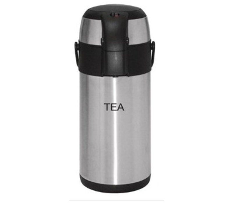 Olympia Olympia thermos with pump 3 liter Tea