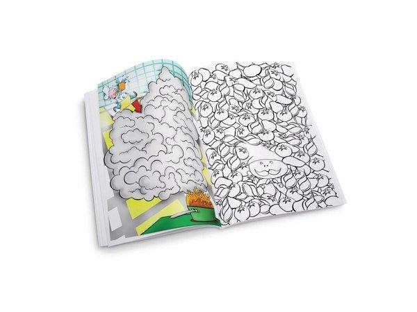 XXLselect Kleurboek Bellboy | Dining Kids  | Verpakt per 50