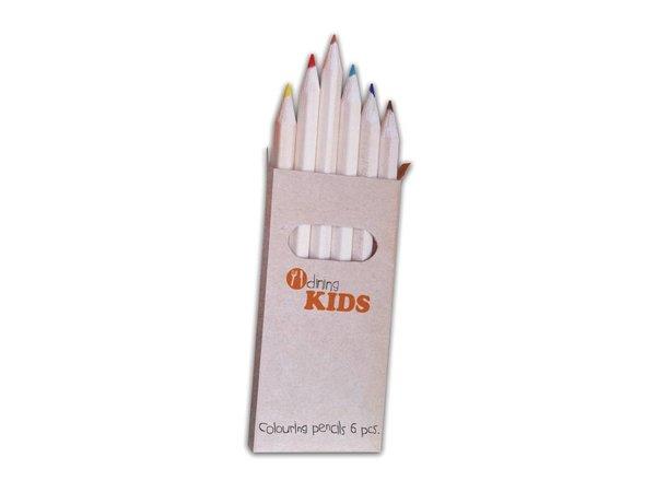Dining Kids Kleurpotloden | Dinig Kids | Verpakt per 24