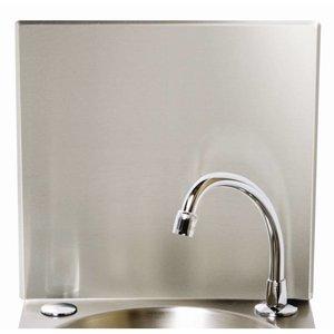 XXLselect Achterschot RVS | Voor Wasbak Handsfree