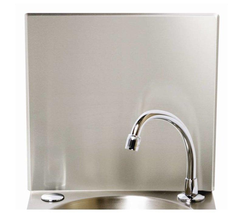 XXLselect Achterschot RVS   Voor Wasbak Handsfree